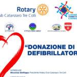 Cardioprotezione scolastico progetto Rotary Catanzaro Tre Colli
