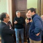 Calabria: Salvini incontra sindaco Catanzaro Abramo