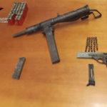 Armi: carabinieri scoprono arsenale nascosto in un muro a Platì