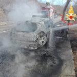 Incendi: a fuoco auto a Platania e Soverato