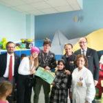 Natale: diventa realtà sogno piccola paziente a Catanzaro