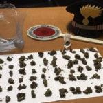 Droga: trovati con della marjuana in auto arrestati