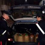 Rubavano gasolio a Campo Calabro, arrestati marito e moglie