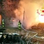 Incendi: a fuoco nella notte a San Vito Ionio un fienile