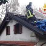Incendi: a fuoco tetto a Torre Reggiero in località Sant'Antonio
