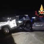 Incidente:scontro tra due auto al bivio Sirene di Curinga, feriti