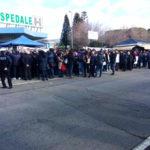 Ospedale Lamezia, il movimento Nuova Era al sit-in di protesta