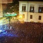 Capodanno: in migliaia per il concerto in piazza a Cosenza