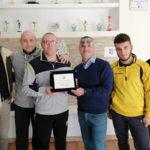 Lamezia: premiato il tecnico della ASD fisiodinamic Ciliberto