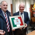 Direttore regionale vigili del fuoco Dodaro visita il Comando di Catanzaro