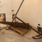 """Trasferiti e messi in sicurezza cannone e ancora del piroscafo """"Torino"""""""
