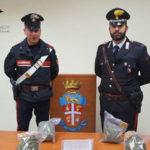 Droga: 2 kg stupefacente in auto, arrestato 28enne nel Reggino