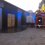 Incendi: a fuoco pedane di un deposito di detersivi a Tiriolo