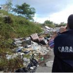Rifiuti: contrasto dei Carabinieri Forestali al fenomeno abbandono