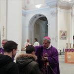 Lamezia: Mercoledi' delle Ceneri, il vescovo Giuseppe Schillaci