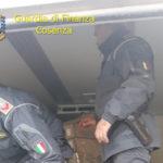 Sicurezza alimentare:Gdf sequestra 600 kg prodotti nel Cosentino
