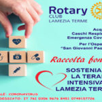 Raccolta fondi del Rotary Club Lamezia Terme contro il Coronavirus
