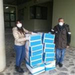 Coronavirus: Arpacal dona dispositivi di protezione al G.O.M. di Reggio