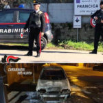 Identificato e denunciato presunto auto incendio auto