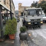 Coronavirus: Catanzaro, al via il lavaggio delle strade