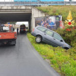 Incidente: auto si ribalta nel comune di Gizzeria