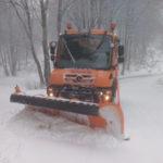 Maltempo: nevicate in Calabria, in azione i mezzi Anas