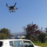 Lamezia: coronavirus, controlli della Polizia Locale con Drone