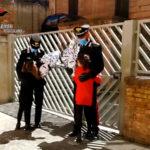 I carabinieri scuola allievi Reggio Calabria donano le uova pasquali