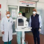 Donato ventilatore polmonare a Pronto soccorso Lamezia Terme