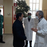 Catanzaro: il Sindaco Abramo in visita al Presidio Ciaccio-De Lellis
