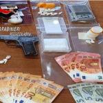 Deteneva cocaina e una pistola, arrestato dai carabinieri della Radiomobile