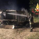 Incendi: a fuoco nella notte automezzo di Calabria Verde