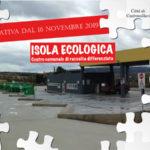 Castrovillari: isola ecologica, riprende conferimento