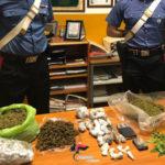 Droga: due arresti e una denuncia per spaccio a Catanzaro