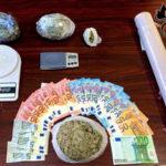 Droga: 4 arresti per spaccio nel Reggino