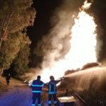 Incendi: rogo sterpaglie spento da Vigili Fuoco a Lamezia Terme