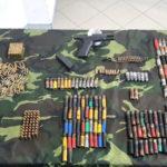 Rifugio-bunker, pistola e munizioni sequestrati nel Reggino