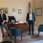 Fase2: il presidente Cciaa Rossi ha incontrato il sindaco Mascaro