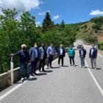 Provincia Catanzaro: sopralluogo del vice presidente Montuoro