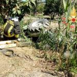 Incidenti: trattore si ribalta deceduto il conducente