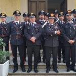 Generale Burgio in visita reparti comando provinciale carabinieri Cosenza