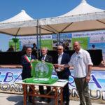Ad Alba Adriatica la consegna della bandiera verde 2020