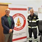 Passaggio consegna  Direzione Regionale Vigili del Fuoco Calabria