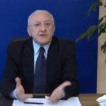Sud:De Luca,perché non dare a Mezzogiorno fiscalità vantaggio?