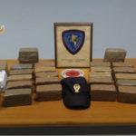 Viaggiava con 19 chili di droga arrestato dalla Polstrada