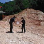 Martirano Lombardo: sequestrata cava abusiva e tre escavatori