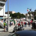 Rifiuti:sit-in davanti Consiglio Regione,risolvere emergenza