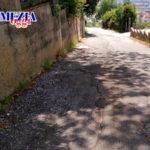 In condizioni di grave pericolo via Pasquale Stancati a Nicastro