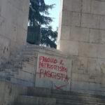 """Cosenza, imbrattato monumento ai caduti. CasaPound """"Gesto vergognoso"""""""