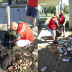 """Lamezia: volontari di CasaPound puliscono parco """"Peppino Impastato"""""""